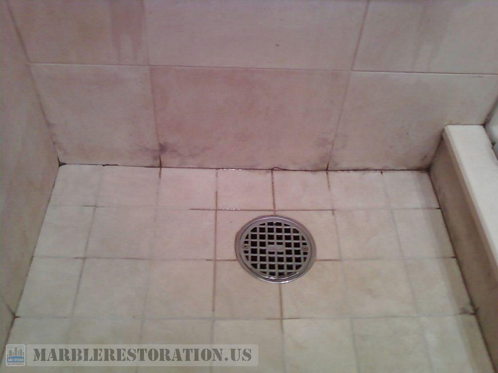 Marvelous Mold On Marble Tiles In Shower Stall