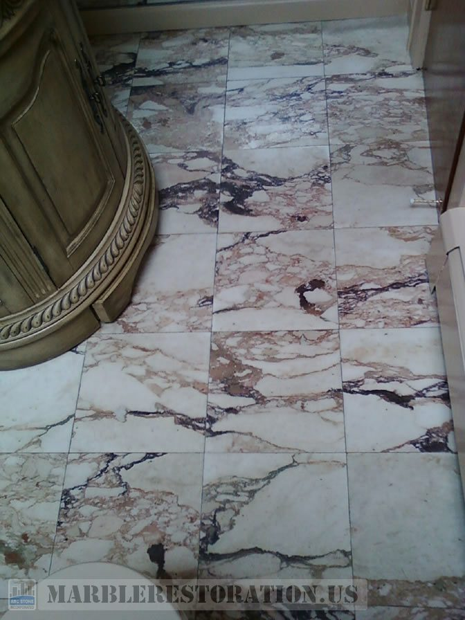 Bathroom Floor Restoration