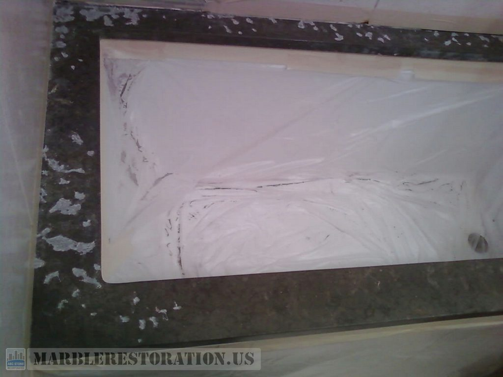 Marble Deteriorations and Erosions Patching