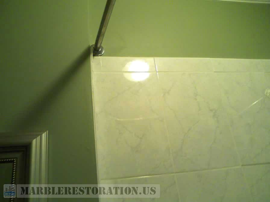 Raised Up Shower Wall Ceramic Tiles