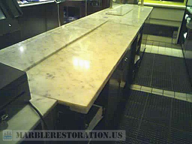 Marble Countertop Fixed