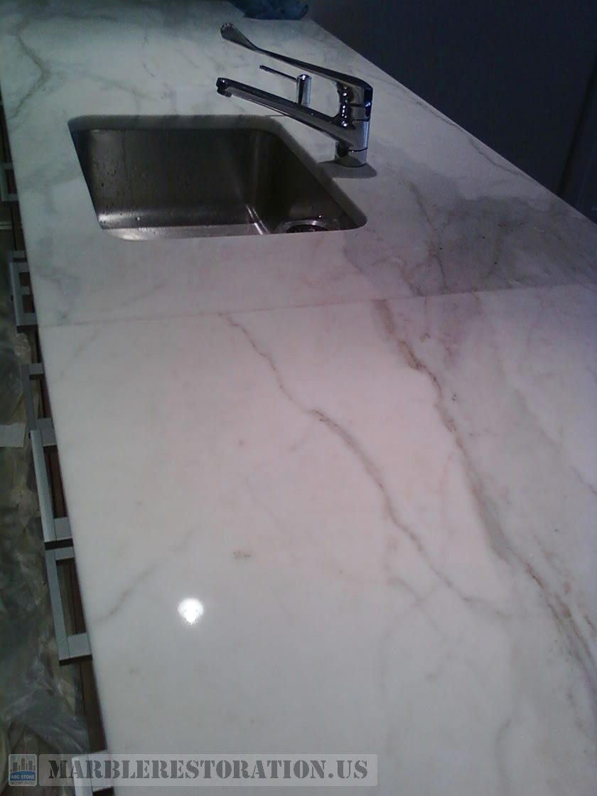 Countertop. After Repair