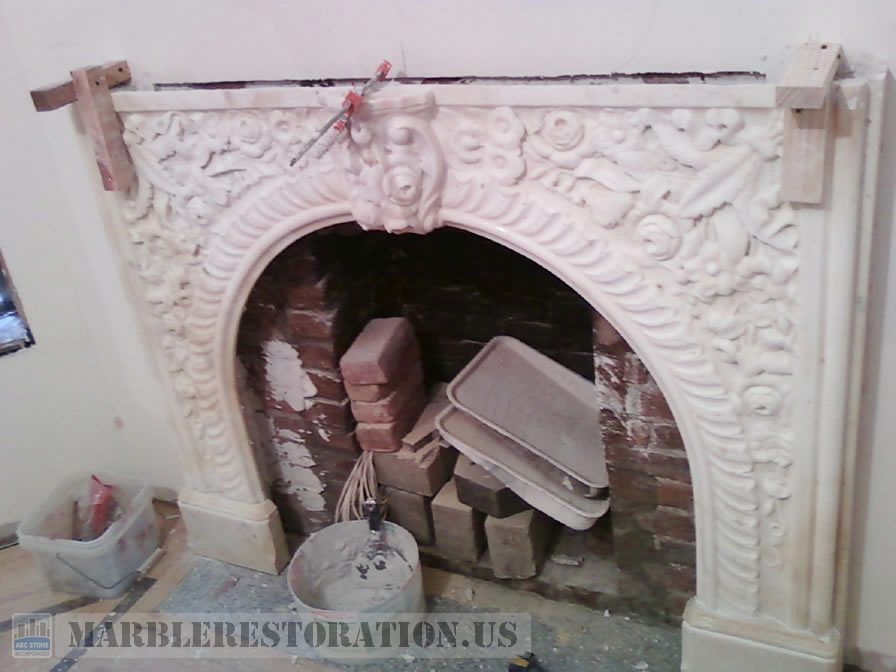 Putting Together Fireplace Parts