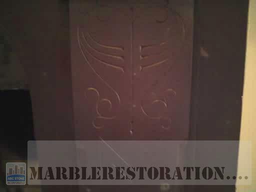 Slate Fireplace Polished Panel