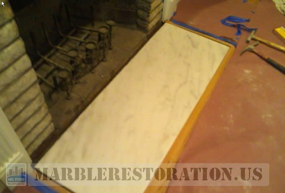 Fireplace Floor Slab Installation