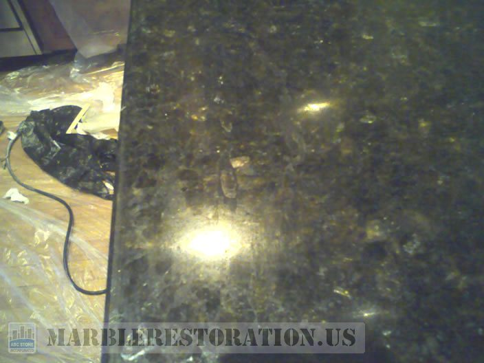 Granite Countertop Crack and Chip Repair