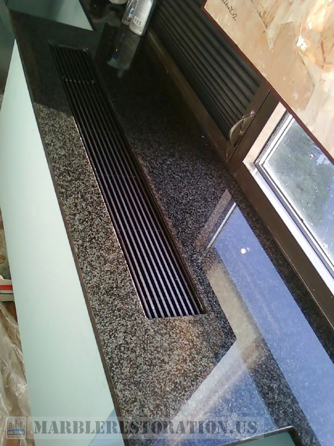 Radiator Granite Top Slab