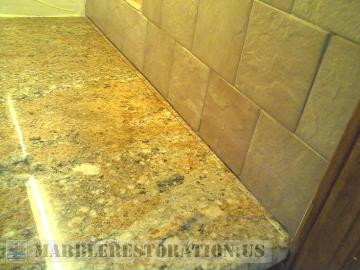 Granite Counter Top Seam Repair