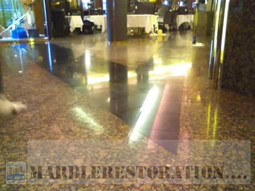 Granite Floor Restoration. After