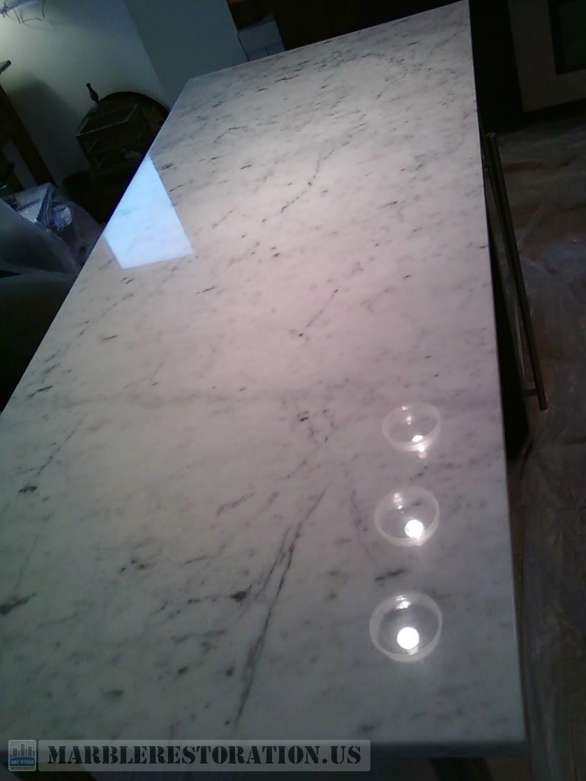 Kitchen Countertop. After Repair