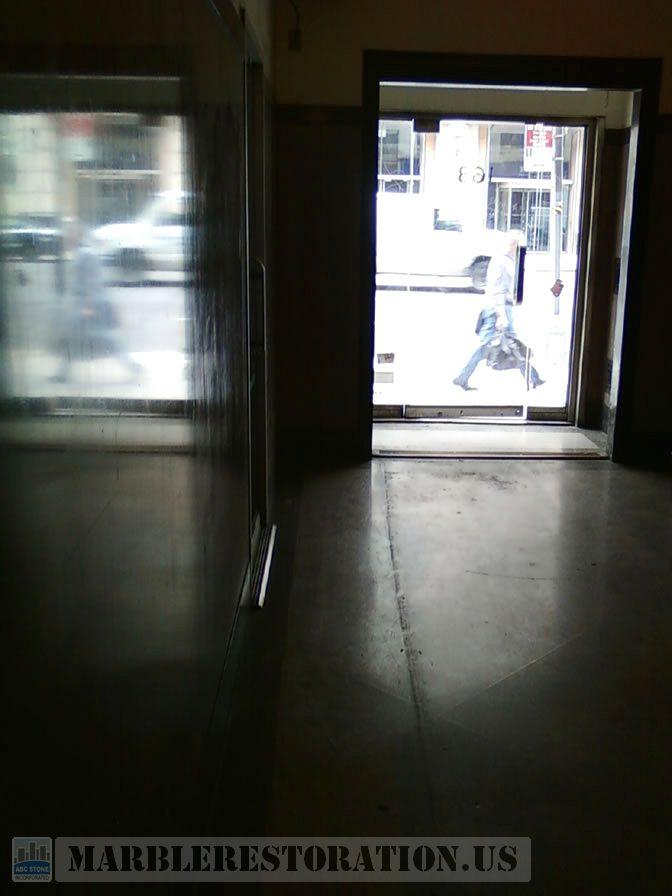 Terrazzo Lobby Shine Restoration