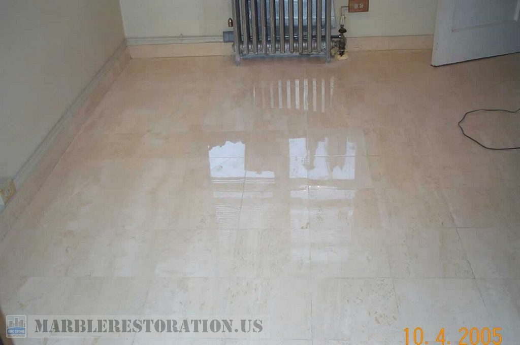 Marble Restoration Service Marble Floor After Image