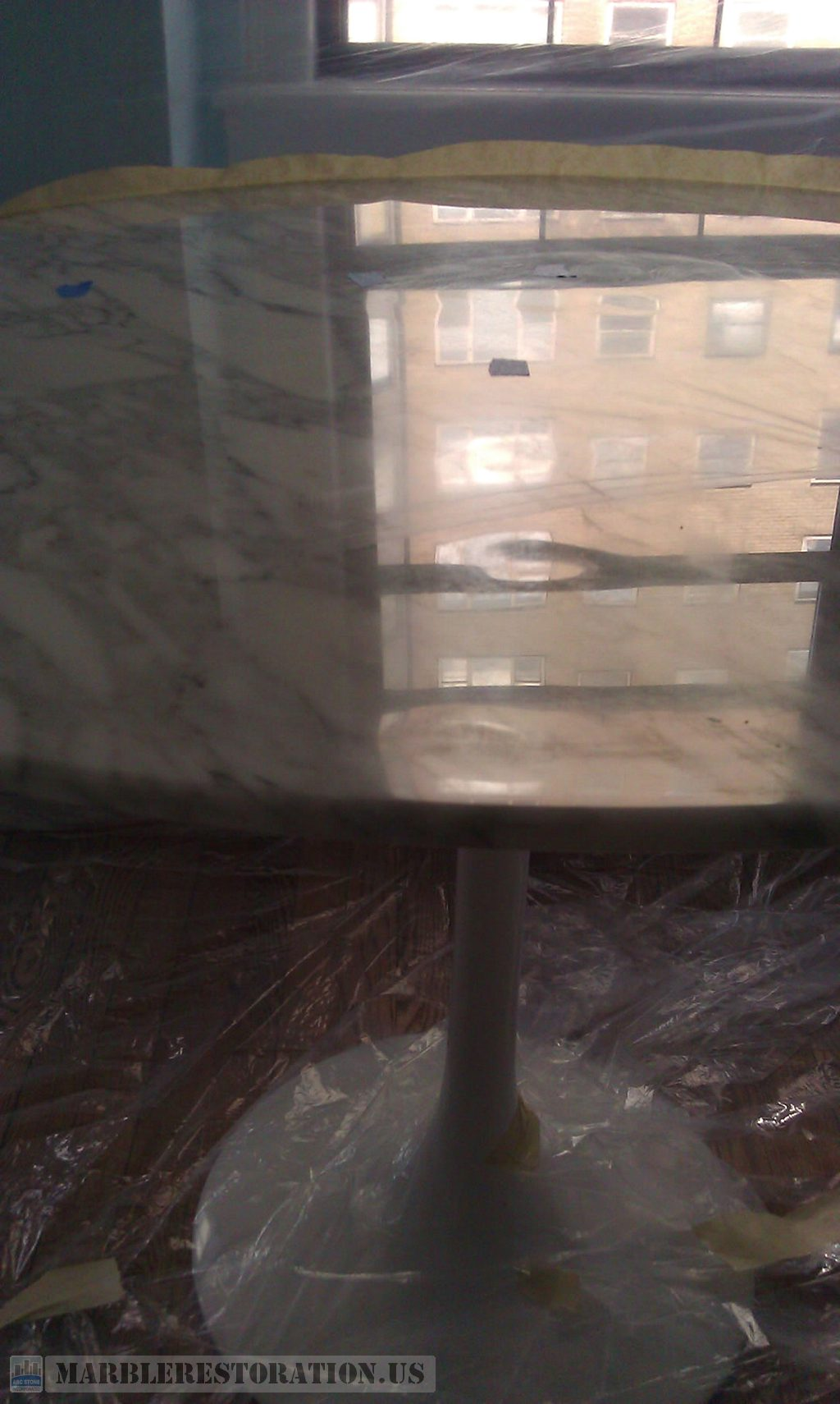 Waves and Gaps on Table Surface