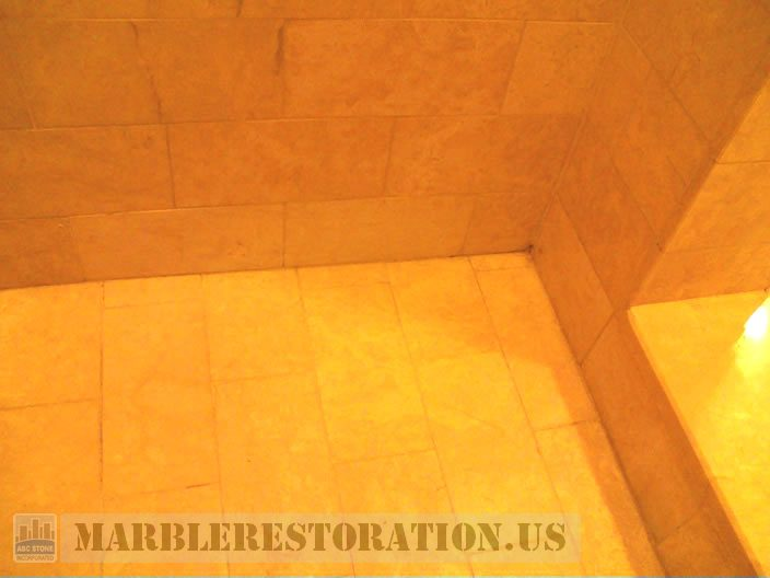 New Bathroom Design Photos With Yellow Tiles And Cement Tiles