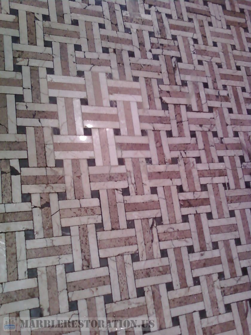 Mosaic Floor After Restoration