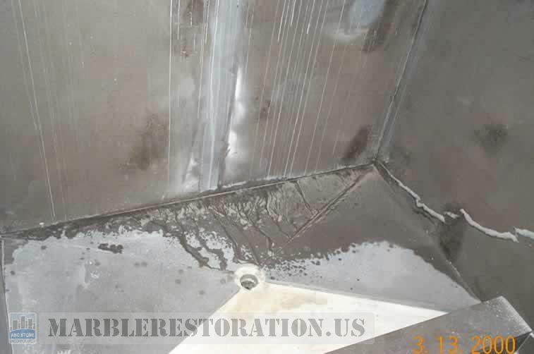 Shower Floor Slab Instalation