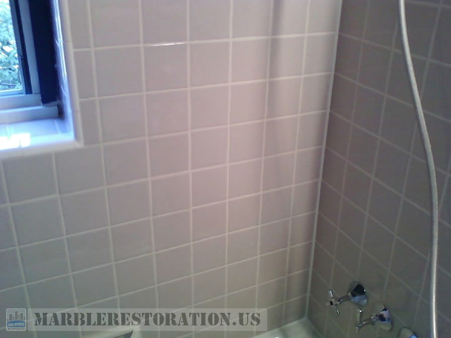 Re Grouted Ceramic Walls. White