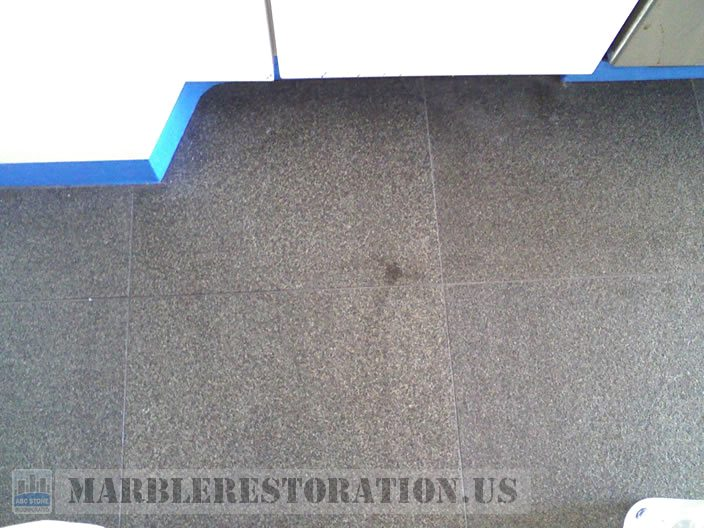 Oily Stains Granite with Flamed Finish