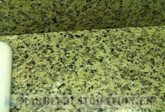 Rust Ring Stain on Granite