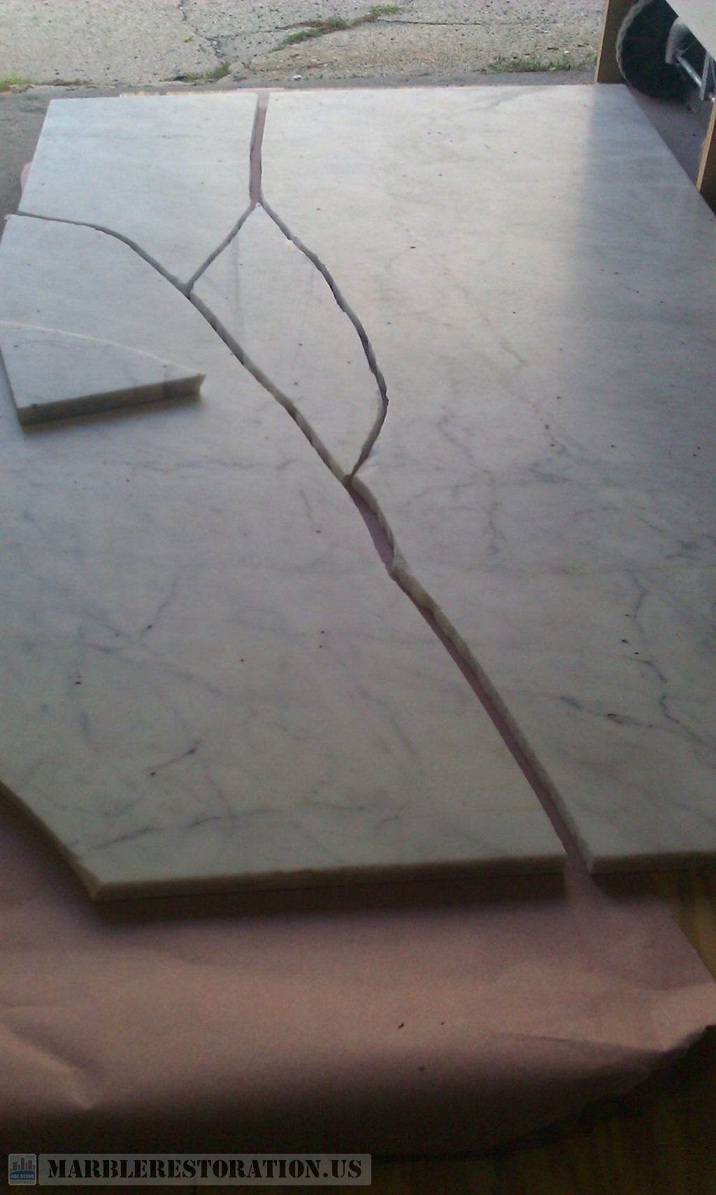 Broken Rectangular Worktop