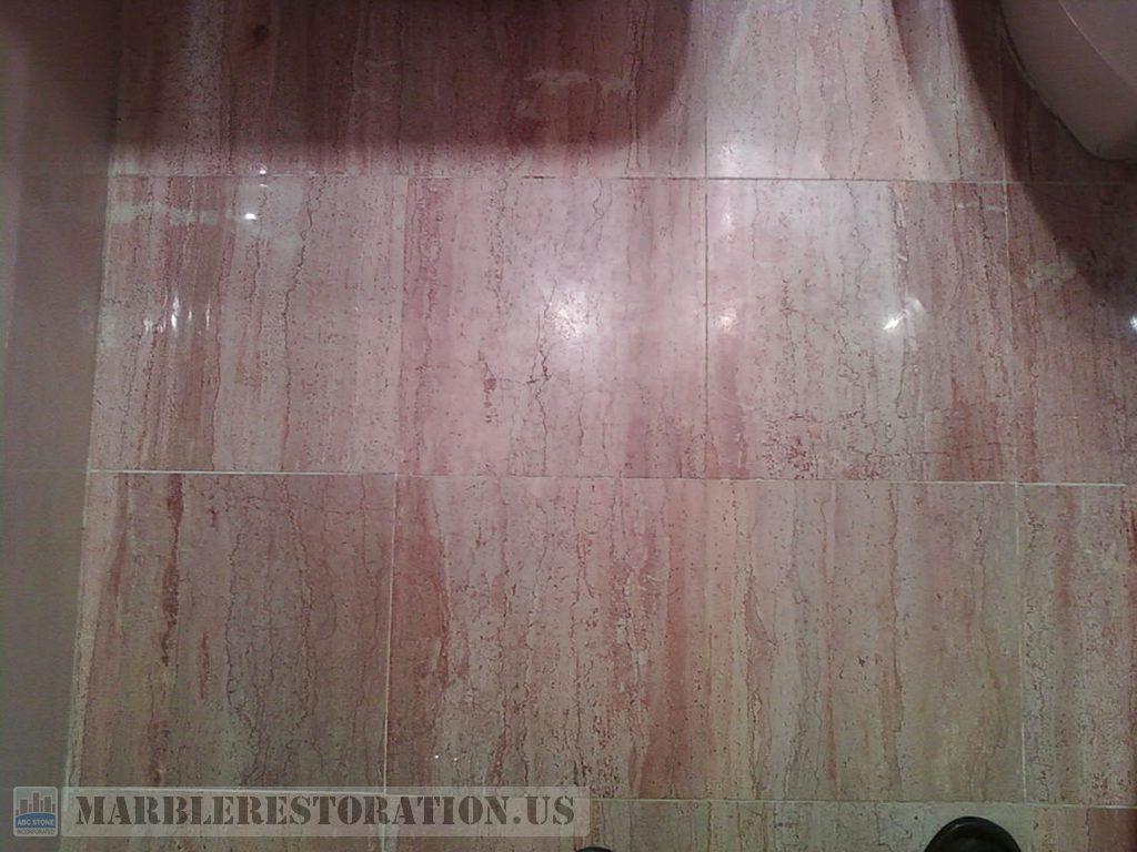 Marble bathroom floor restoration gallery - Bathroom Floor Tiles Before Refinishing