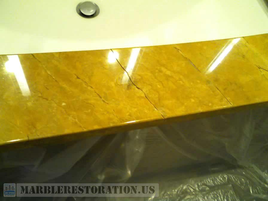 Bathroom Vanity Front Crack