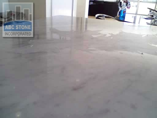 Wax on Marble Countertop Removal